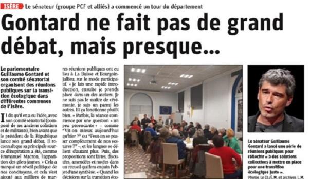 Tour d'Isère dans la presse