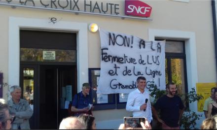 Pour que vive la ligne ferroviaire Grenoble-Veynes-Gap !