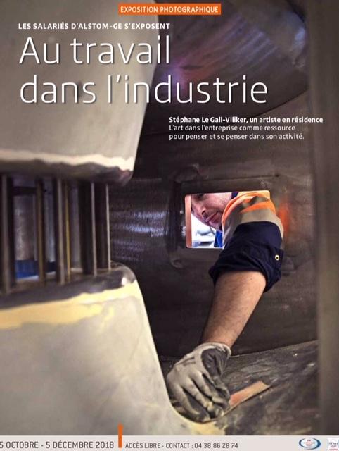 « Les salariés de GE s'exposent : Au travail dans l'industrie » à la permanence parlementaire