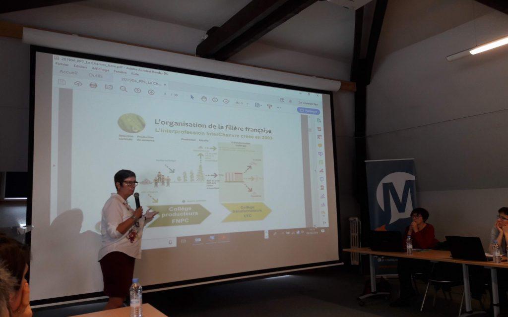 Développement de la filière chanvre en Isère