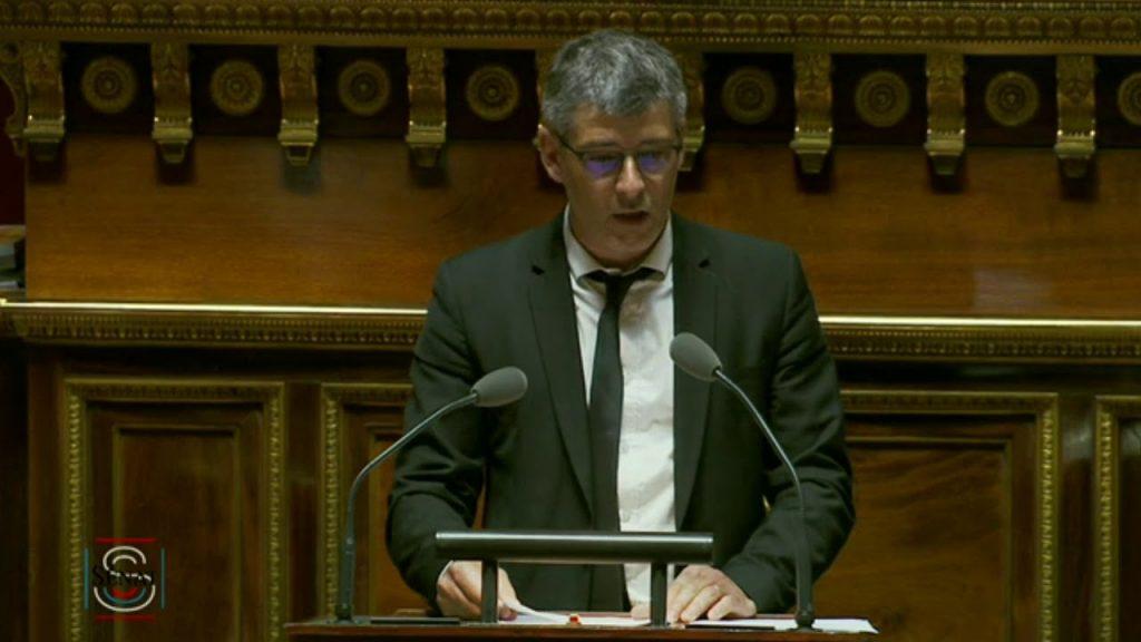 Réforme de la SNCF / Mon intervention contre le projet de loi