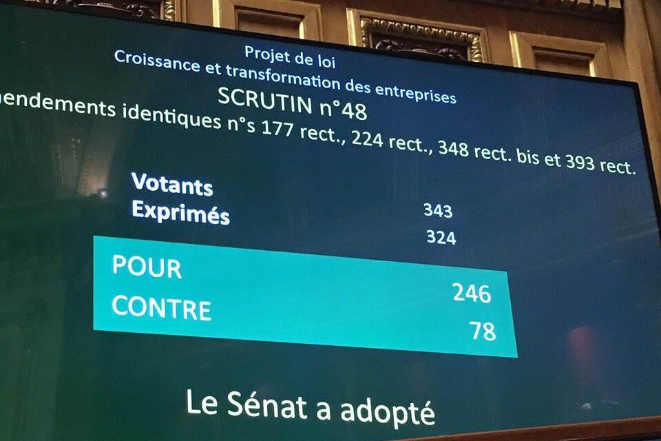 Loi PACTE : le Sénat s'oppose aux privatisations d'Aéroports de Paris et de la Française des Jeux