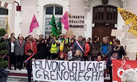 La ligne Grenoble-Gap sauvée