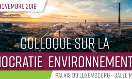 Retour sur le colloque sur la démocratie environnementale du 29 novembre 2019