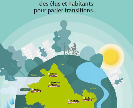 Support de restitution du Tour d'Isère