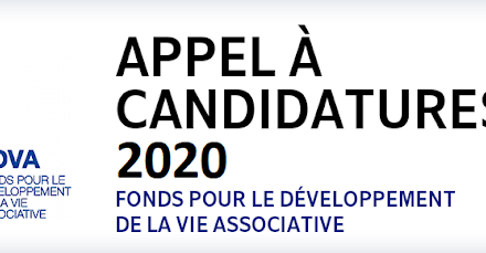 Associations : appel à projets FDVA
