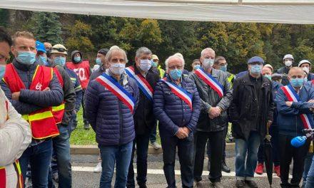 Mobilisation aux côtés des salariés de l'usineFerroPem menacée de fermeture