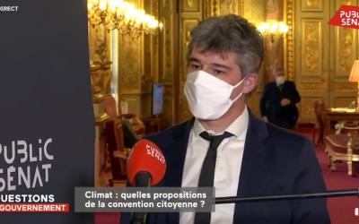 Rencontre avec les membres de la Convention citoyenne pour le Climat et Emmanuel Macron